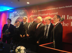 Gus Poyet, Gianfranco Zola, Roy Hodgson, Jiri D & leading sports physicians